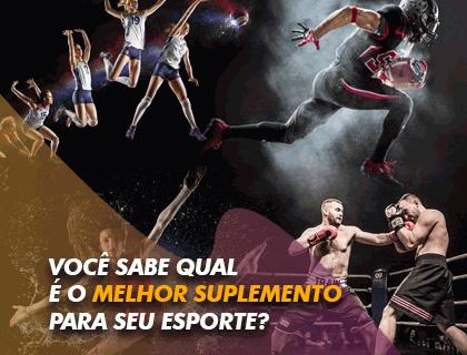 Melhores suplementos para seu esporte predileto: Artes marciais, Natação e Corrida!