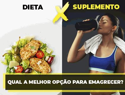 Dieta ou suplementação? Qual delas vai te fazer emagrecer?